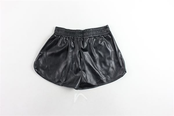 short in ecopelle con stampa BOY LONDON | Shorts | BL1131NERO