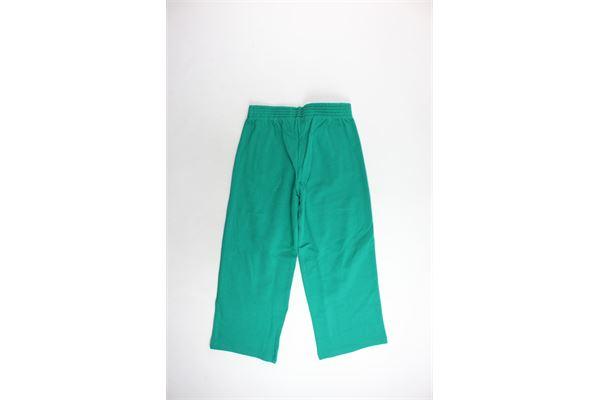 pantalone tuta felpato a palazzo tinta unita BOY LONDON | Pantaloni | BLD1531VERDE