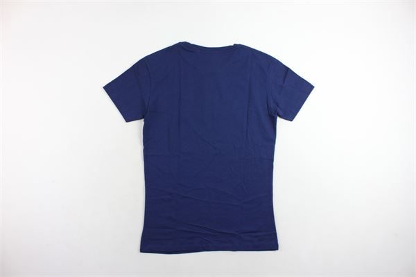 t-shirt mezza manica tinta unita con stampa BOY LONDON | T-shirts | BLU5103BLU