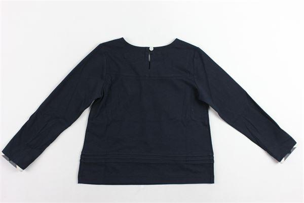 shirt manica lunga tinta unita profili burberry ai polsi BURBERRY | Shirts | 4054515.2BLU