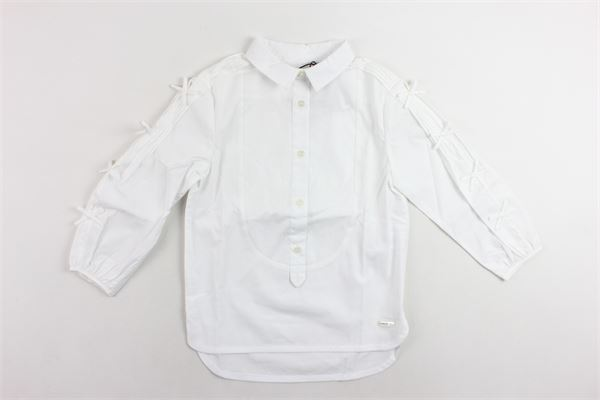 camicia manica lunga tinta unita BURBERRY | Camicie | 4063132/10000BIANCO
