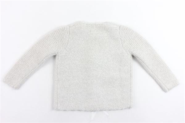 cardigan tinta unita manica lunga in lana CARRE'MENT BEAU | Maglie | Y15186.7BEIGE