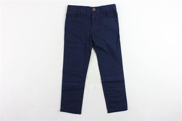 pantalone 5 tasche tinta unita girovita regolabile CARRE'MENT BEAU | Pantaloni | Y2409585TBLU