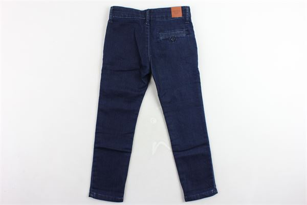 jeans tasca america tinta unita girovita regolabile CARRE'MENT BEAU | Jeans | Y24099Z10BLU