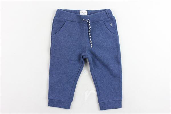 pantaloni tuta felpato tinta unita CARRE'MENT BEAU | Pantaloni | Y94052.1BLUETTE