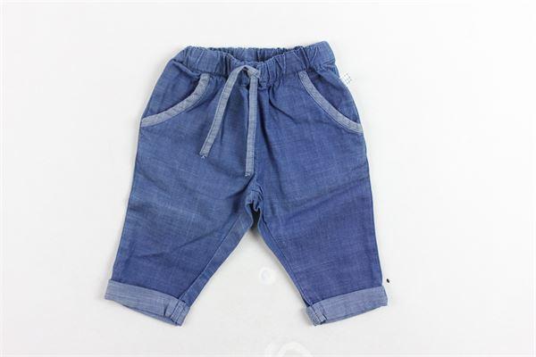 pantalone in denim elastico in vita CARRE'MENT BEAU | Pantaloni | Y94114Z27BLU
