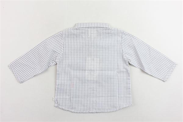camicia a quadri manica lunga CARRE'MENT BEAU | Camicie | Y95080/779BIANCO