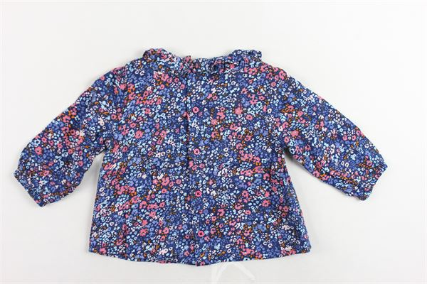 camicia manica lunga stampa a fiori CARRE'MENT BEAU | Camicie | Y95145Z41BLU