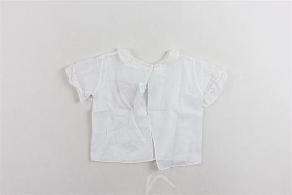 camicia meezza manica in cotone CASILDA Y GIMENA | Camicie | 15V7251006MBRBIANCO