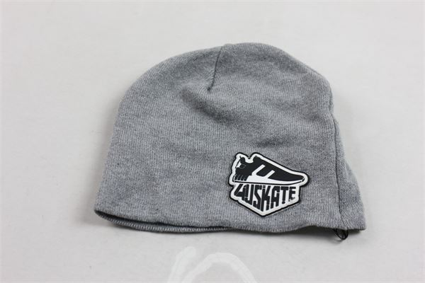 cappello in lana tinta unita con stampa CESARE PACIOTTI | Cappelli | CAP183901BGRIGIO