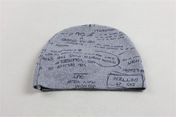 cappello in lana con stampa CESARE PACIOTTI | Cappelli | CAP183904BGRIGIO