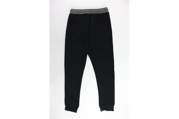 pantalone elastico in vita tinta unita CESARE PACIOTTI | Pantaloni | PTP183906JNERO