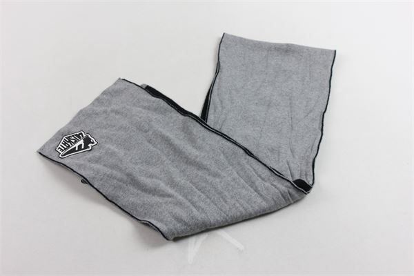 sciarpa bicolore con stickers CESARE PACIOTTI | Sciarpe | SCP183901BGRIGIO
