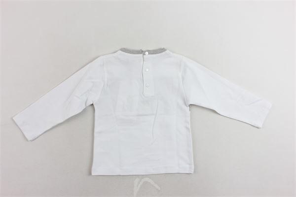 shirt cotone caldo tinta unita con stampa CESARE PACIOTTI | Shirts | TSP183902NPBIANCO