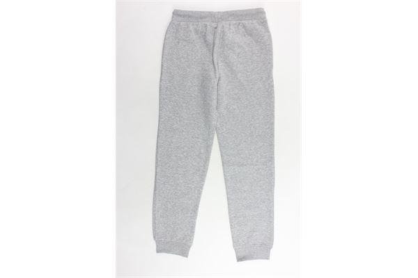 pantalone tuta felpato tinta unita con logo CHAMPION | Pantaloni | 304779GRIGIO