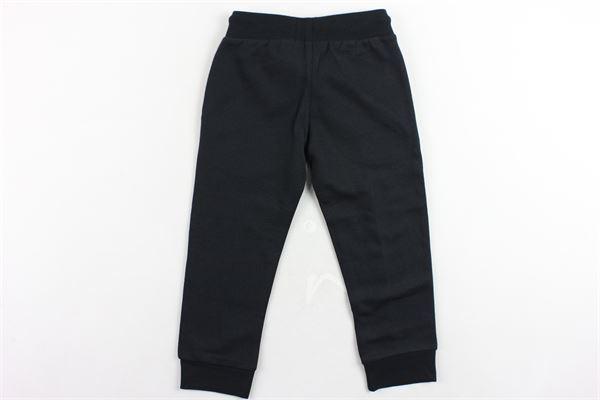 pantalone tuta felpato tinta unita con logo CHAMPION   Pantaloni   305029NERO