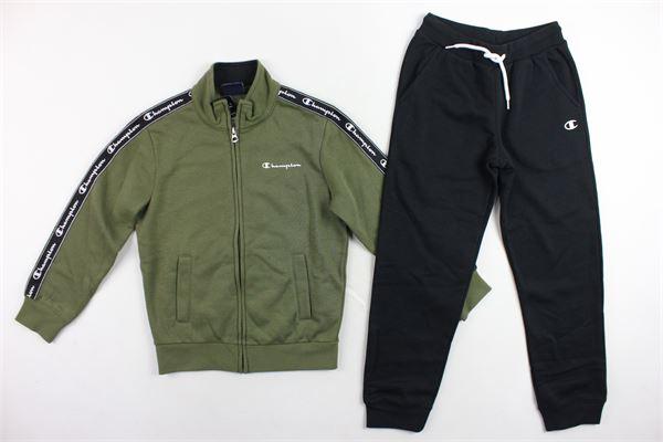 completo tuta felpa più pantalone CHAMPION   Completi   305092VERDE