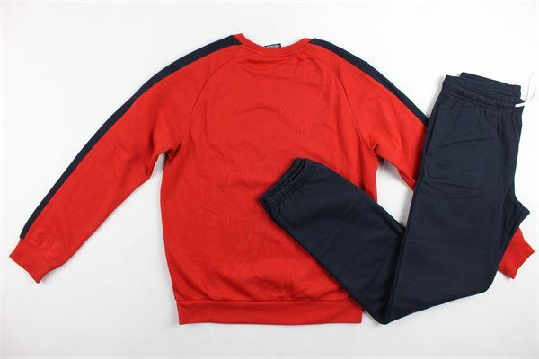 completo tuta felpato, felpa più pantalone CHAMPION   Completi   305095ROSSO