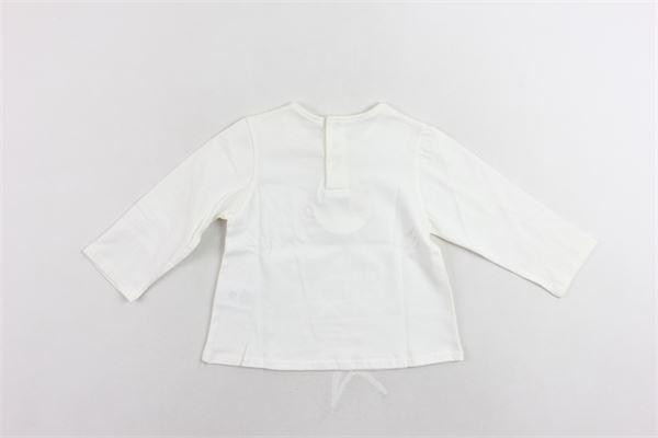 shirt manica lunga tinta unita con stampa CHLOE' | Shirts | C05241/117BIANCO