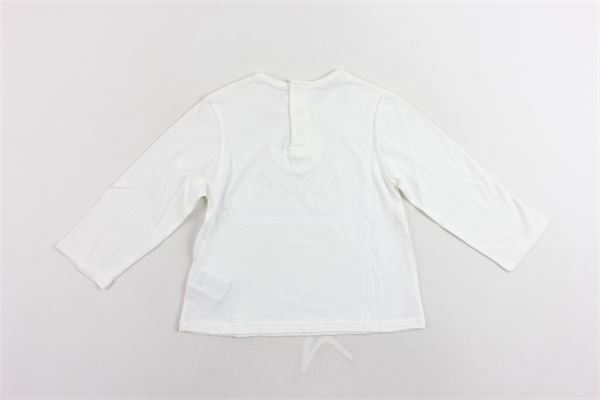shirt manica lunga tinta unita con stampa CHLOE' | Shirts | C05270/117BIANCO