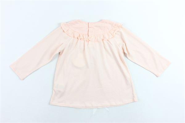 shirt manica lunga tinta unita collo con rouches CHLOE' | Shirts | C05272/438SALMONE