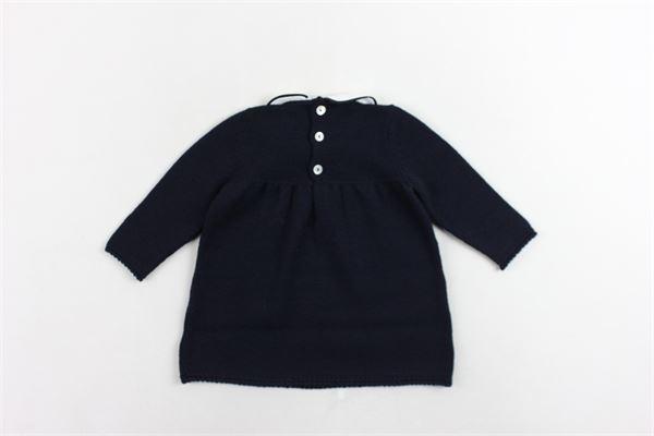 maglione tinta unita in lana COLIBRI | Maglie | 65944BLU
