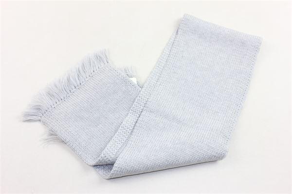 sciarpa in lana tinta unita sfangiata COLIBRI | Sciarpe | 6907GRIGIO