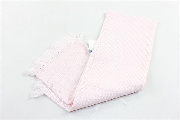 sciarpa in lana tinta unita sfangiata COLIBRI | Sciarpe | 6907ROSA