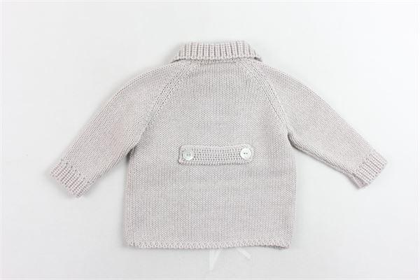 cappotto corto in maglia tinta unita COLIBRI | Giubbini | 7001BEIGE