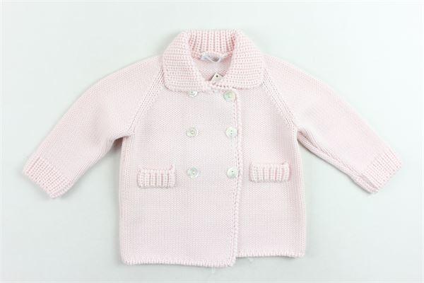 cappotto corto in maglia tinta unita COLIBRI | Giubbini | 7001ROSA