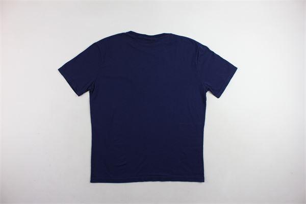t-shirt mezza manica tinta unita con stampa COMME DES FUCKDOWN | T-shirts | CDFU202BLU