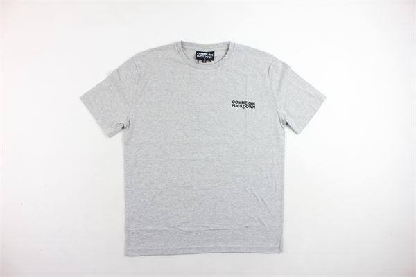 COMME DES FUCKDOWN | T-shirts | CDFU2066GRIGIO