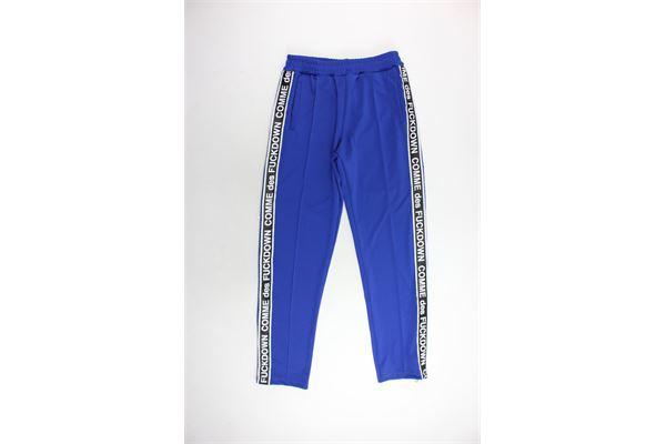 COMME DES FUCKDOWN | Trousers | CDFU283BLU