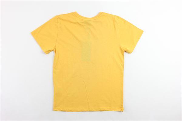 t-shirt mezza manica tinta unita con stampa COMME DES FUCKDOWN | T-shirts | TSCD9302JGIALLO