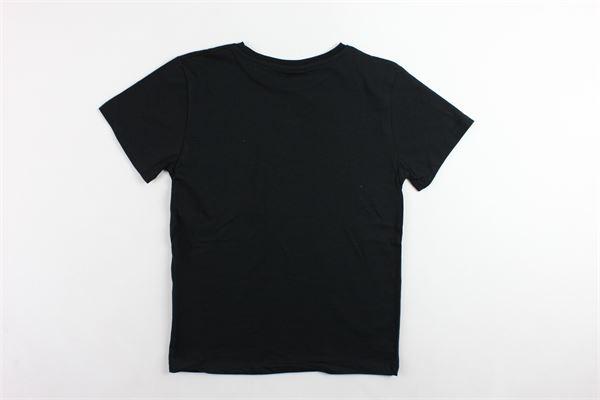 t-shirt mezza manica tinta unita con stampa COMME DES FUCKDOWN | T-shirts | TSCD9302JNERO