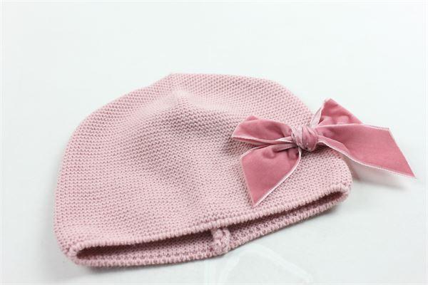 cappello in lana con fiocco tinta unita CONDOR   Cappelli   50036011ROSA