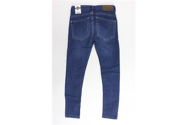 jeans 5 tasche tinta unita CRUSH | Jeans | 31810105BLU