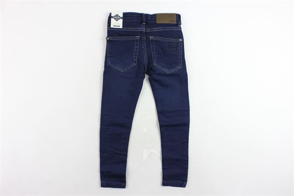 jeans 5 tasche tinta unita modello skinny CRUSH | Jeans | 31810106BLU