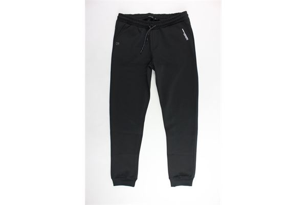 pantalone tuta tinta unita tasca america DANIELE ALESSANDRINI | Pantaloni | 1231PF0646NERO