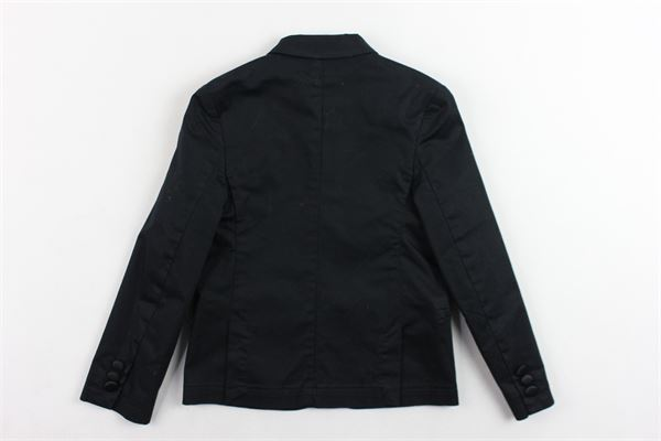 giacca tinta unita DANIELE ALESSANDRINI | Giacche | DA35AB0606TNERO