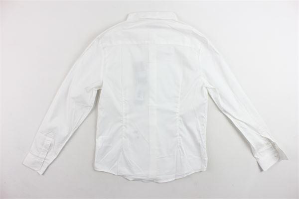 camicia manica lunga tinta unita DANIELE ALESSANDRINI | Camicie | DA35C0725TBIANCO