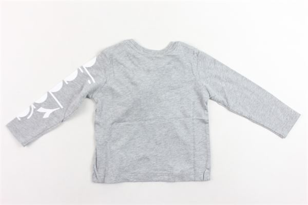shirt manica lunga tinta unita con stampa bottoni alla spalla DIADORA | Shirts | 021497GRIGIO