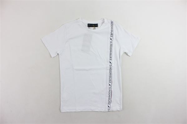 t-shirt mezza manica tinta unita DIEGO RODRIGUEZ | T-shirts | DRR400BIANCO