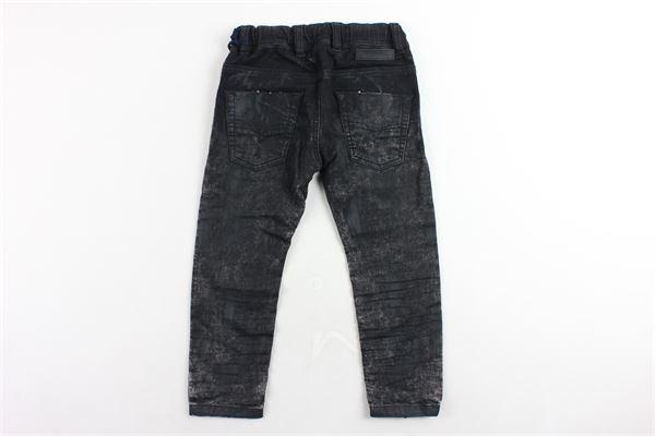 jeans tinta unita elastico in vita DIESEL | Jeans | 00J3AJNERO