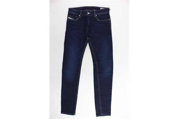 jeans tinta unita 5 tasche DIESEL | Jeans | 00J3RJ-KXA55-K01BLU