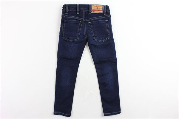 jeans 5 tasche tinta unita modello skinny DIESEL | Jeans | 00J3RJBLU