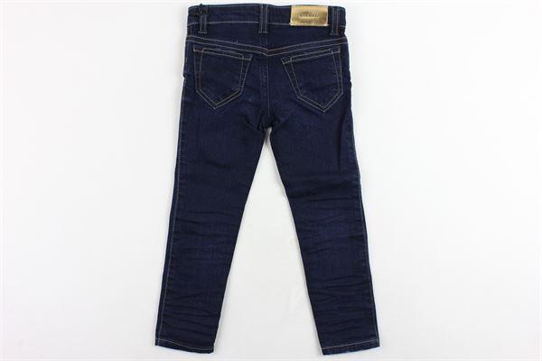 jeans 5 tasche tinta unita modello skinny DIESEL | Jeans | 00J3S6BLU