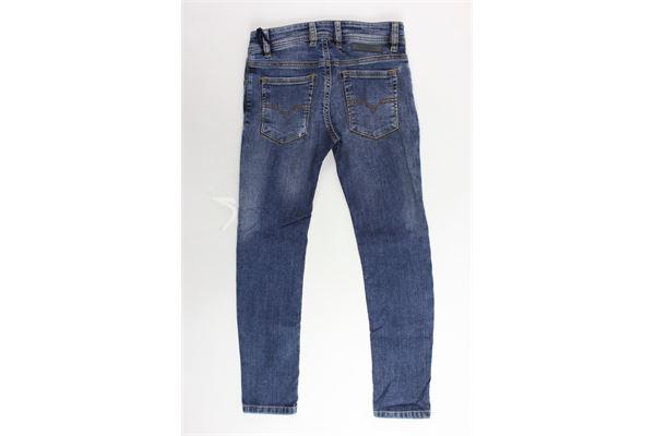 jeans 5 tasche tinta unita girovita regolabile DIESEL | Jeans | 00J3Y1-KXB0D-K01BLU