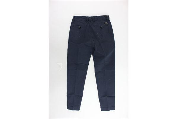 pantalone tasca a filo tinta unita girovita regolabile DIESEL | Pantaloni | 00J407-0CAPN-K860BLU