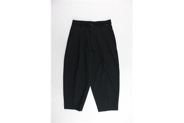 pantalone tasca america tinta unita modello largo DIESEL | Pantaloni | 00J41U-0HAEN-K900NERO